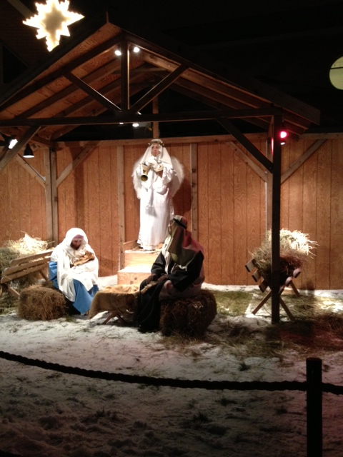 The Live Nativity at Traverse City's Bayview Wesleyan Church