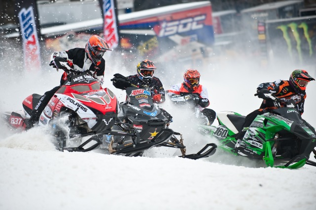 Racers in the AMSOIL Championship Series