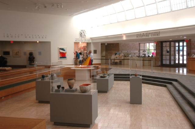 Interior of the Dennos Museum Center