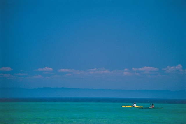 Kayaking on Grand Traverse Bay
